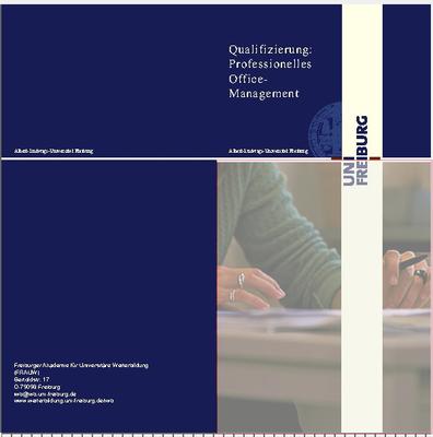 Flyer Professionelles Office-Management